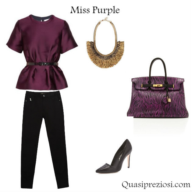 Outfit Viola QuasiPreziosi The Blog!!!